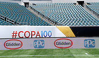 Philadelphia, PA - Friday Feb. 09, 2007: Sponsors prior to a Copa America Centenario Group D match between Chile (CHI) and Panama (PAN) at Lincoln Financial Field.