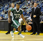Tulane downs the University of San Diego, 65-46, in a game played at the New Orleans Arena to capture the Hoops for Hope Championship and push their record to 7-0.