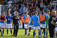 Tranmere at the final whistle during Stevenage vs Tranmere Rovers, Sky Bet EFL League 2 Football at the Lamex Stadium on 4th August 2018