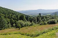 Riesengebirge bei Karpacz, Woiwodschaft Niederschlesien (Wojew&oacute;dztwo dolnośląskie), Polen, Europa<br /> Giant Mountains near Karpacz, Poland, Europe
