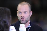 SCHAATSEN: HEERENVEEN: 14-12-2014, IJsstadion Thialf, ISU World Cup Speedskating, Erben Wennemars (NOS tv), ©foto Martin de Jong