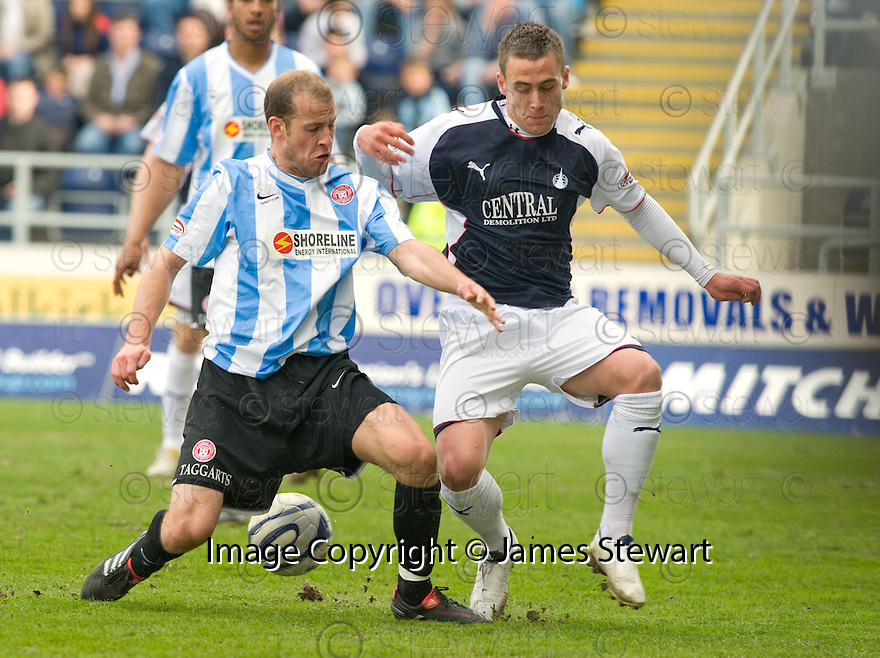 24/04/2010   Copyright  Pic : James Stewart.sct_jsp013_falkirk_v_hamilton  .::  TRENT MCCLENAHAN AND JACK COMPTON ::  .James Stewart Photography 19 Carronlea Drive, Falkirk. FK2 8DN      Vat Reg No. 607 6932 25.Telephone      : +44 (0)1324 570291 .Mobile              : +44 (0)7721 416997.E-mail  :  jim@jspa.co.uk.If you require further information then contact Jim Stewart on any of the numbers above.........