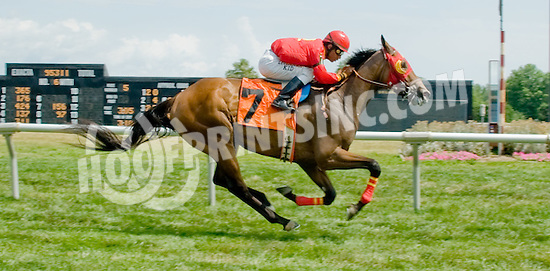 Unbroken winning at Delaware Park on 7/11/12
