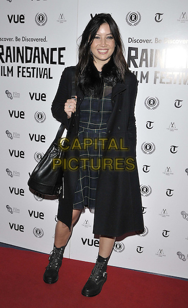 LONDON, ENGLAND - OCTOBER 02: Daisy Lowe attends the &quot;Flim: The Movie&quot; UK film premiere, Raindance film festival, Vue Piccadilly cinema, Lower Regent St., on Thursday October 02, 2014 in London, England, UK. <br /> CAP/CAN<br /> &copy;Can Nguyen/Capital Pictures