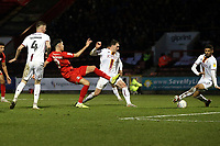 2nd half O's Conor Wilkinson shot during Leyton Orient vs Bradford City, Sky Bet EFL League 2 Football at The Breyer Group Stadium on 14th December 2019