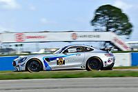 IMSA Continental Tire SportsCar Challenge<br /> Sebring February Test<br /> Sebring International Raceway, Sebring, Florida, USA<br /> Wednesday 21 February 2018<br /> #57 Winward Racing / HTP Motorsport, Mercedes-AMG, GS: Bryce Ward, Indy Dontje<br /> World Copyright: Richard Dole<br /> LAT Images