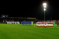 One minute silence before the v Ebbsfleet United vs Leyton Orient, Vanarama National League Football at The PHB Stadium on 11th November 2017