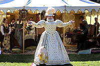 Oct. 31, 2015. Escondido,  CA. USA|Tara Poole plays Queen Elizabeth the 1st at the 16th Annual Escondido Renaissance Faire and Pirates in the Park held at Felicita Park Saturday .| Photos by Jamie Scott Lytle. Copyright.