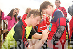 The Munster teams visit to Tralee Rugby club on Friday for an open training session which ran in conjunction with the Munster Rugby Summer Camp. Pictured is Danny Barnes signing autographs.