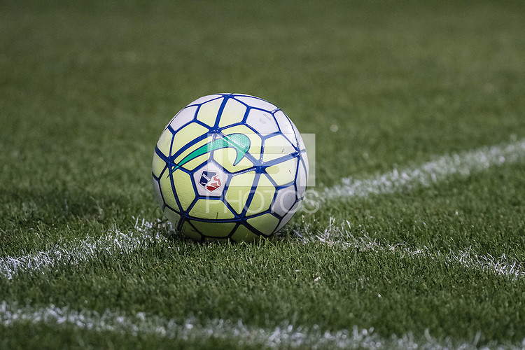 Bridgeview, IL - Saturday July 23, 2016:  NWSL Nike Soccer Ball during a regular season National Women's Soccer League (NWSL) match between the Chicago Red Stars and the Houston Dash at Toyota Park.