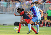 Boyds, MD. - Saturday, June 18  2016:  The Washington Spirit defeated the Orlando Pride 2-0 in a NWSL (National Women's Soccer League) match at the Maryland Soccerplex.