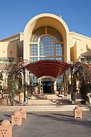 Hotel loddy in Carthage, Tunisia