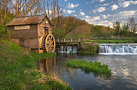 Iowa County, Wisconsin:<br /> Hyde's mill in early spring