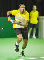 10-02-13, Tennis, Rotterdam, qualification ABNAMROWTT,   Josselin  Ouanna