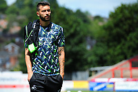 Borja of Swansea City arrives for the pre season friendly match between Exeter City and Swansea City at St James Park in Exeter, England, UK. Saturday, 20 July 2019