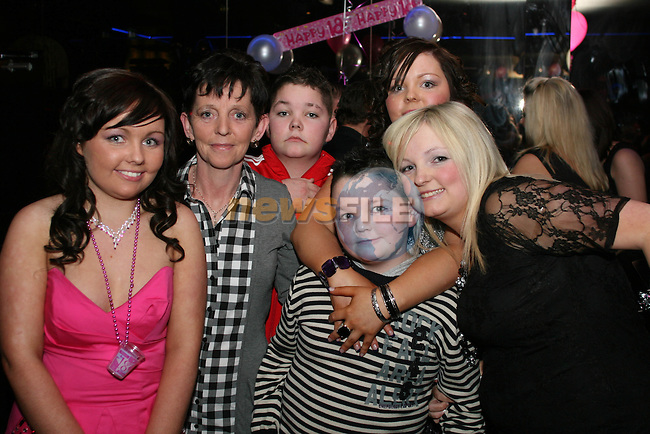 Sinead Boyle with her family at her 18th in QBar..Photo NEWSFILE/Jenny Matthews.(Photo credit should read Jenny Matthews/NEWSFILE)....This Picture has been sent you under the condtions enclosed by:.Newsfile Ltd..The Studio,.Millmount Abbey,.Drogheda,.Co Meath..Ireland..Tel: +353(0)41-9871240.Fax: +353(0)41-9871260.GSM: +353(0)86-2500958.email: pictures@newsfile.ie.www.newsfile.ie.FTP: 193.120.102.198.