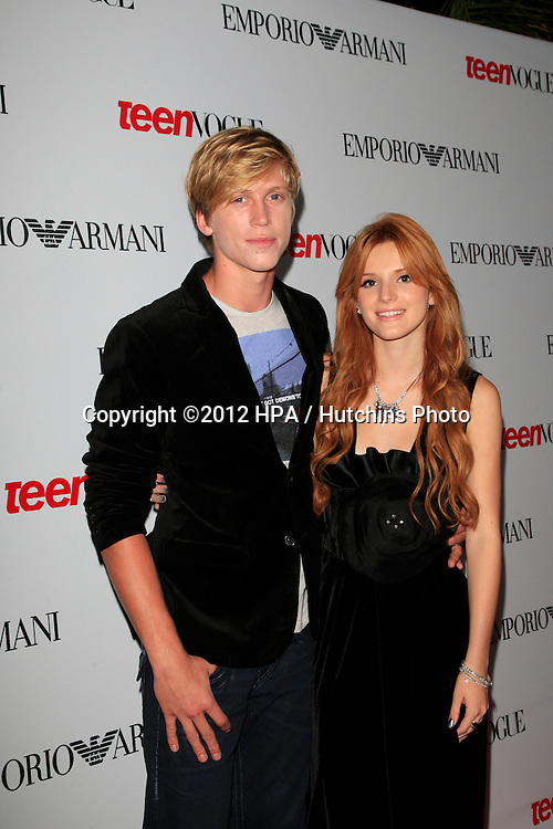 LOS ANGELES - SEP 27:  Bella Thorne at the Teen Vogue's 10th Annual Young Hollywood Party at Private Location on September 27, 2012 in Beverly Hills, CA