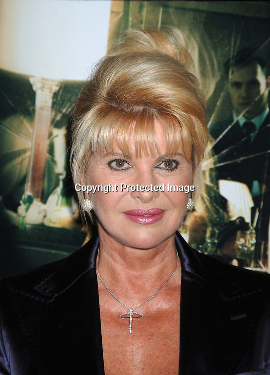 """Ivana Trump ..at The Wolld Premiere of """"Basic Instinct 2"""" starring ..Sharon Stone and David Morrissey on March 27, 2006..at The Loews Lincoln Square Theatre. ..Robin Platzer, Twin Images"""