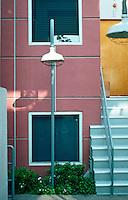 Santa Monica CA: Sun-Tech Townhouses -- Detail. Photo '89.