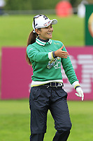 Ai Miyazato (JPN) playing her final tournament of her career   walks off the 7th tee during Wednesday's Pro-Am Day of The Evian Championship 2017, the final Major of the ladies season, held at Evian Resort Golf Club, Evian-les-Bains, France. 13th September 2017.<br /> Picture: Eoin Clarke | Golffile<br /> <br /> <br /> All photos usage must carry mandatory copyright credit (&copy; Golffile | Eoin Clarke)