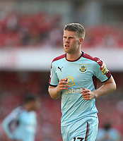 Burnley's Johann Gudmundsson<br /> <br /> Photographer Rob Newell/CameraSport<br /> <br /> The Premier League - Arsenal v Burnley - Sunday 6th May 2018 - The Emirates - London<br /> <br /> World Copyright &copy; 2018 CameraSport. All rights reserved. 43 Linden Ave. Countesthorpe. Leicester. England. LE8 5PG - Tel: +44 (0) 116 277 4147 - admin@camerasport.com - www.camerasport.com