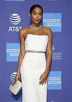 03 January 2019 - Palm Springs, California - Laura Harrier. 30th Annual Palm Springs International Film Festival Film Awards Gala held at Palm Springs Convention Center.            <br /> CAP/ADM/FS<br /> &copy;FS/ADM/Capital Pictures