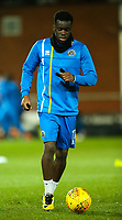 Shrewsbury Town's Arthur Gnahoua<br /> <br /> Photographer Alex Dodd/CameraSport<br /> <br /> The EFL Sky Bet League One - Fleetwood Town v Shrewsbury Town - Tuesday 13th February 2018 - Highbury Stadium - Fleetwood<br /> <br /> World Copyright &copy; 2018 CameraSport. All rights reserved. 43 Linden Ave. Countesthorpe. Leicester. England. LE8 5PG - Tel: +44 (0) 116 277 4147 - admin@camerasport.com - www.camerasport.com
