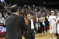 March 14, 2010.  _______ receives his game ball after the Stanford Cardinal beat the UCLA Bruins to win the 2010 Pac-10 Tournament.