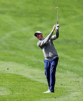 Brad Shilton during the Charles Tour Augusta Funds Management Ngamotu Classic, Ngamotu Golf Course, New Plymouth, New Zealand, Thursday 12 October 2017.  Photo: Simon Watts/www.bwmedia.co.nz