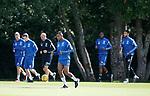 10.08.18 Rangers training: Alfredo Morelos