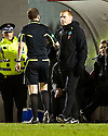 12/01/2011   Copyright  Pic : James Stewart.sct_jsp007_hamilton_v_celtic  .::  CELTIC MANAGER NEIL LENNON IS SPOKEN TO Y REFEREE WILLIAM COLLUM  ::.James Stewart Photography 19 Carronlea Drive, Falkirk. FK2 8DN      Vat Reg No. 607 6932 25.Telephone      : +44 (0)1324 570291 .Mobile              : +44 (0)7721 416997.E-mail  :  jim@jspa.co.uk.If you require further information then contact Jim Stewart on any of the numbers above.........