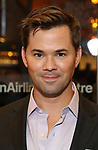 Andrew Rannells attends the Broadway Opening Night performance of The Roundabout Theatre Company production of 'Time and The Conways'  on October 10, 2017 at the American Airlines Theatre in New York City.