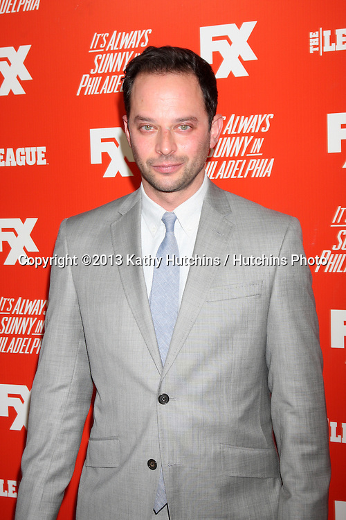 "LOS ANGELES - SEP 3:  Nick Kroll at the FXX Network Launch Party And Premieres For ""It's Always Sunny In Philadelphia"" And ""The League"" at the Lure on September 3, 2013 in Los Angeles, CA"