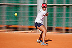 Chinese Taipei tennis player Yang Lee during Tennis Junior Fed Cup in Madrid, Spain. September 30, 2015. (ALTERPHOTOS/Victor Blanco)