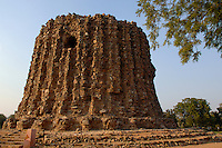 The unfinished Alai-Minar in New Delhi, India.