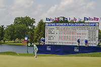 Eun-Hee Ji (KOR) watches her putt on 18 during round 4 of the 2018 KPMG Women's PGA Championship, Kemper Lakes Golf Club, at Kildeer, Illinois, USA. 7/1/2018.<br /> Picture: Golffile | Ken Murray<br /> <br /> All photo usage must carry mandatory copyright credit (&copy; Golffile | Ken Murray)