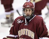 Brian Gibbons (BC - 17) - The Northeastern University Huskies defeated the Boston College Eagles 3-2 on Friday, February 19, 2010, at Matthews Arena in Boston, Massachusetts.