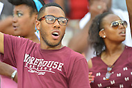 September 1, 2012  (Washington, DC) Morehouse fans enjoy the 2012 AT&T Football Classic between Howard and Morehouse. Howard won 29-30 in the last 22 seconds of the game.   (Photo by Don Baxter/Media Images International)