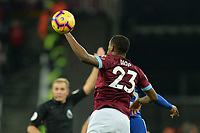 Issa Diop Of West Ham United during West Ham United vs Cardiff City, Premier League Football at The London Stadium on 4th December 2018