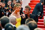 Charlize Theron & Sean Penn sur les marches du Festival de Cannes