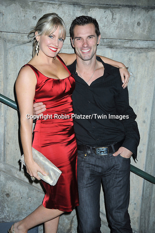 Austin Peck and Terri Colombino attending ABC Casino Night on October 28, 2010 at Guastavinos in New York City. .