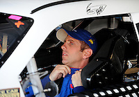 Sept. 27, 2008; Kansas City, KS, USA; Nascar Sprint Cup Series driver Greg Biffle during practice for the Camping World RV 400 at Kansas Speedway. Mandatory Credit: Mark J. Rebilas-