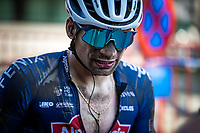 David van der Poel (NED/Alpecin-Fenix) post race<br /> <br /> Antwerp Port Epic 2020 <br /> One Day Race: Antwerp to Antwerp 183km; of which 28km are cobbles and 35km is gravel/off-road<br /> Bingoal Cycling Cup 2020