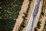 The peloton in action during Stage 17 of the 2019 Tour de France running 200km from Pont du Gard to Gap, France. 24th July 2019.<br /> Picture: ASO/Pauline Ballet | Cyclefile<br /> All photos usage must carry mandatory copyright credit (© Cyclefile | ASO/Pauline Ballet)