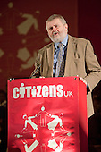 "Sir Steve Bullock, Mayor of Lewisham, addresses a ""Day for Civil Society"" organized by Citizens UK / London Citizens to celebrate 10 years of the Living Wage Campaign, launch a National Living Wage Foundation and call for the living wage to be adopted nationally.  Central Hall, Westminster."