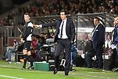 September 8th 2017, Stade Saint-Symphorien, Metz, France; French League 1 football, Metz versus Paris St Germain;  UNAI EMERY (TRAINER PSG)