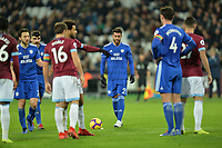 Lee Peltier Of Cardiff City FC during West Ham United vs Cardiff City, Premier League Football at The London Stadium on 4th December 2018