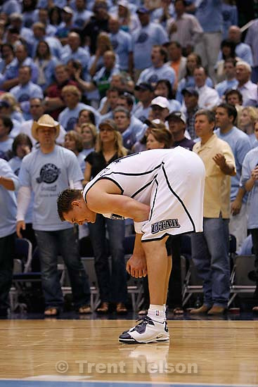 Salt Lake City - Utah Jazz vs. Golden State Warriors, NBA Playoffs basketball, second round, Game Two, at EnergySolutions Arena. Utah Jazz forward Matt Harpring (15)