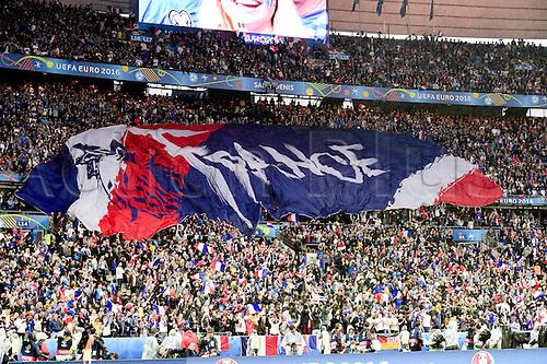 03.07.2016. St Denis, Paris, France. UEFA EURO 2016 quarter final match between France and Iceland at the Stade de France in Saint-Denis, France, 03 July 2016. Supporters of France