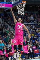 Estudiantes Aleksandar Cvetkovic during Liga Endesa match between Estudiantes and FC Barcelona Lassa at Wizink Center in Madrid, Spain. October 22, 2017. (ALTERPHOTOS/Borja B.Hojas) /NortePhoto.com
